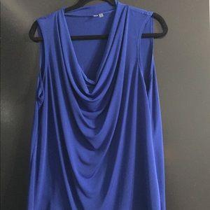 Tops - Royal blue dressy tank